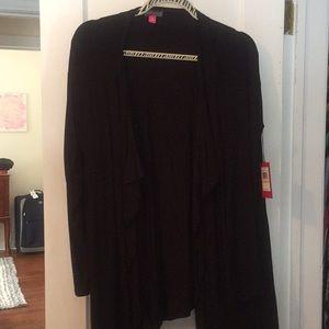 NWT black cardigan